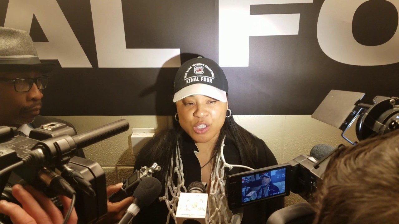 South Carolina head coach Dawn Staley on South Carolina's National Championship win