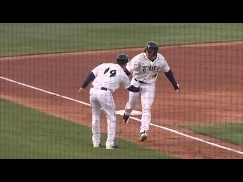 Tim Tebow hits a homer in first career minor league at bat