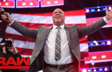 Vince McMahon announces Kurt Angle as new Monday Night RAW general manager