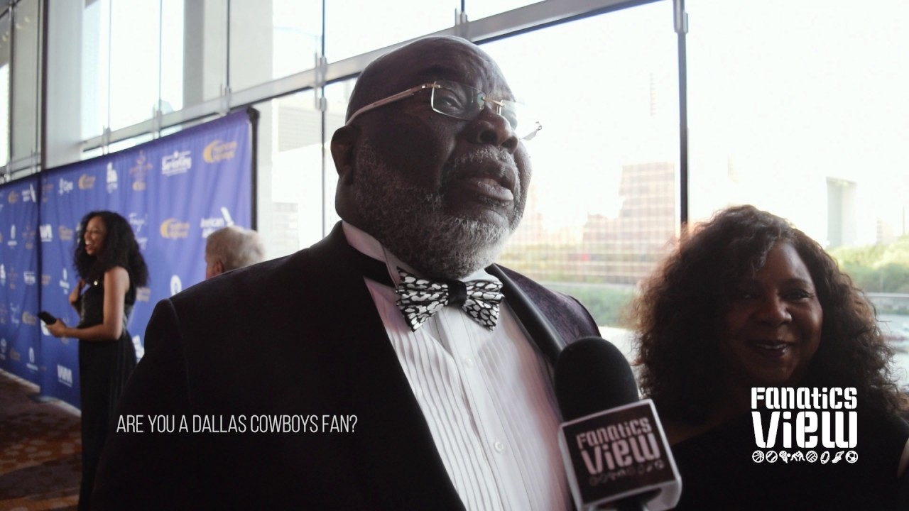 Bishop TD Jakes on being a Dallas Cowboys fan (FV Exclusive)