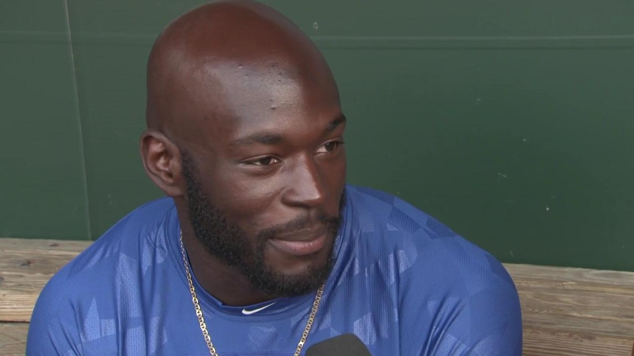 Blue Jays outfielder Anthony Alford speaks on getting the call up to the show