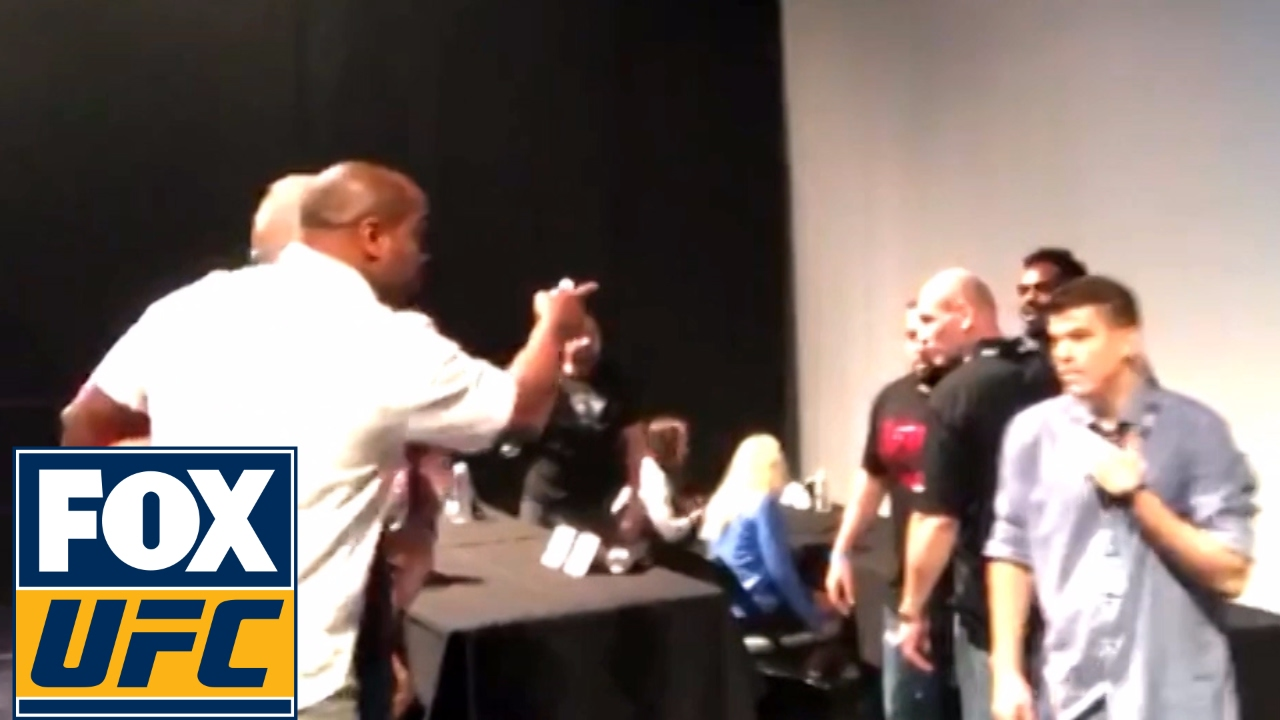 Daniel Cormier goes after Jon Jones at UFC Summer Kickoff press conference
