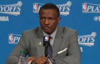 Dwane Casey speaks on the Raptors being down 3-0 to Cleveland