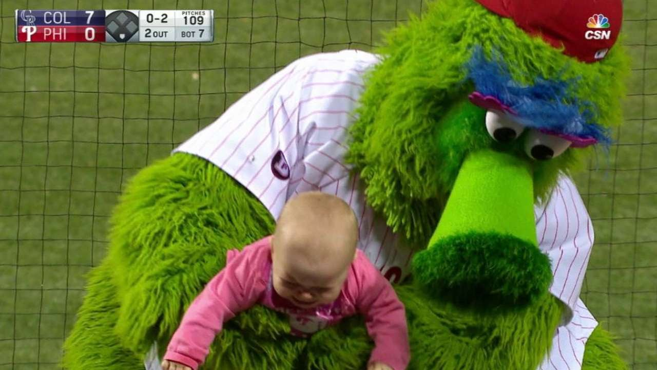 Even baby Phillies fans aren't happy with their team this year