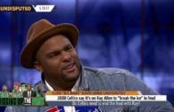 "Glen ""Big Baby"" Davis speaks on Ray Allen's fall out with the Boston Celtics"