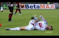 Hungarian soccer player Danko Lazovic with the biggest flop of all time