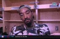J.R. Smith says he is not watching other basketball & is watching the Golf Channel instead