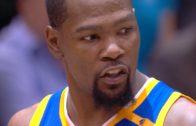 """Kevin Durant tells Utah Jazz mascot to """"get the f**k off the court"""""""