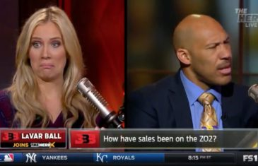 LaVar Ball shoots down FOX Sports host Kristine Leahy mid-interview