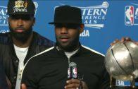 "LeBron James on idolizing Michael Jordan: ""I didn't go bald like Mike, but I'm getting there"""