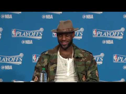 LeBron James speaks on possibly sweeping the Toronto Raptors