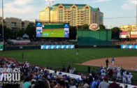 Dak Prescott rips an RBI Double at Dirk Nowitzki's Heroes Baseball