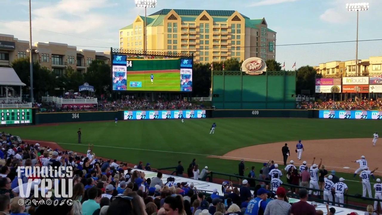 Dak Prescott rips an RBI Double at Dirk Nowitzki's Heroes Baseball