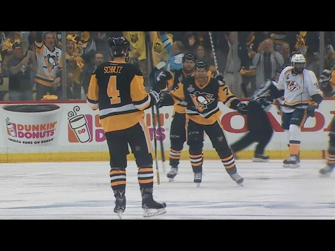 Game 5 Recap: Penguins walk all over Predators in lopsided win
