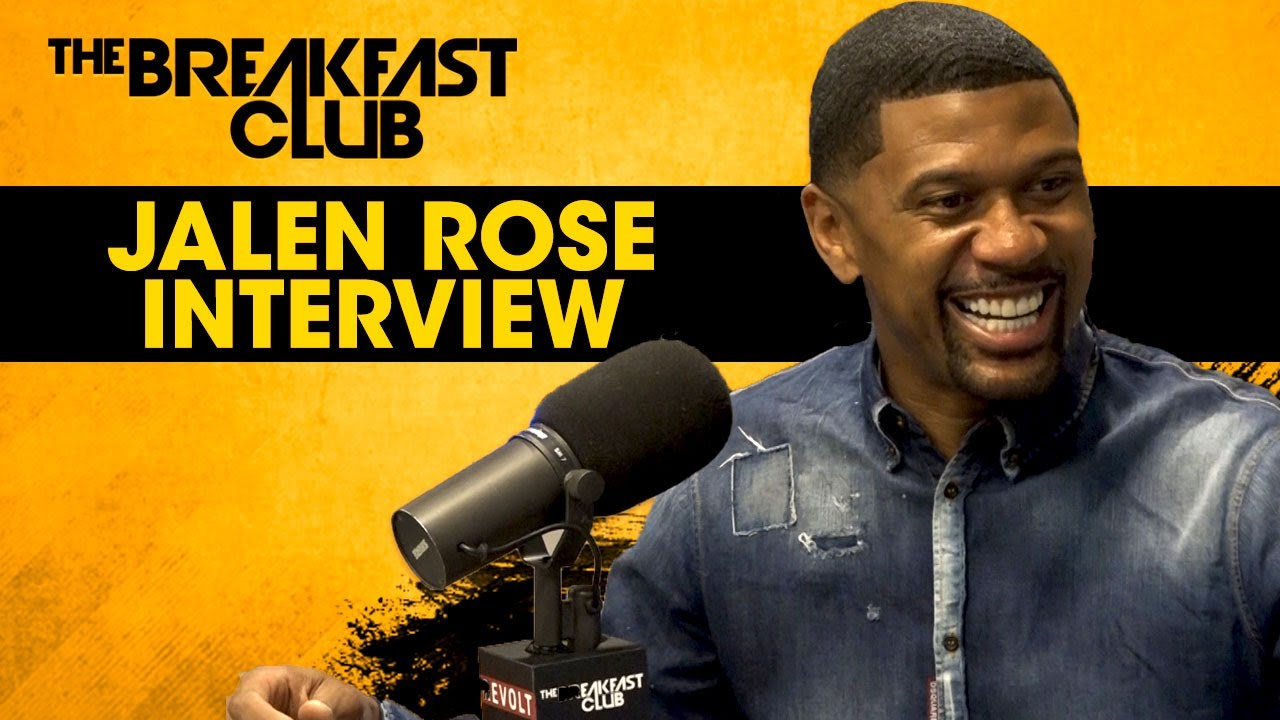 Jalen Rose speaks on the 2017 NBA Draft, Colin Kaepernick & supporting LaVar Ball