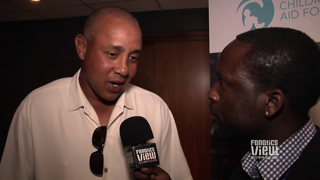 John Starks talks New York Knicks memories & NBA Super Teams with Fanatics View