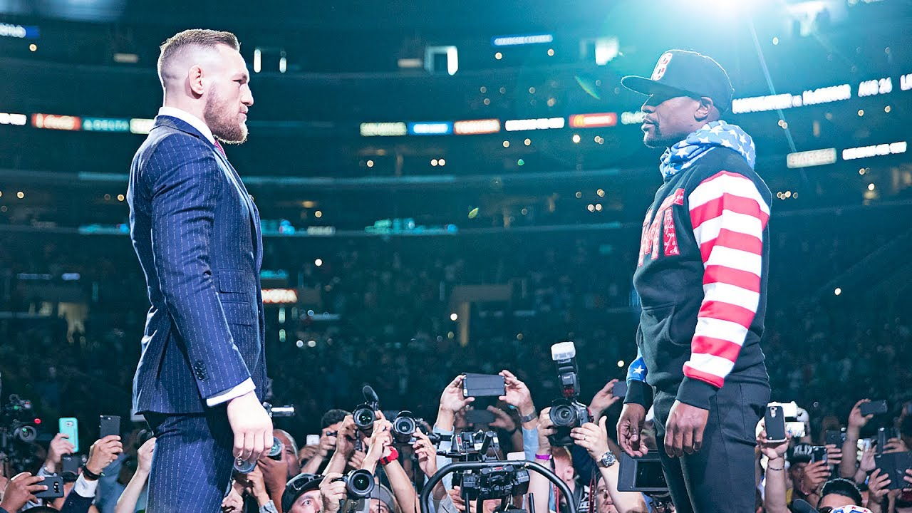 Conor McGregor vs Floyd Mayweather Full Los Angeles Fan Press Conference