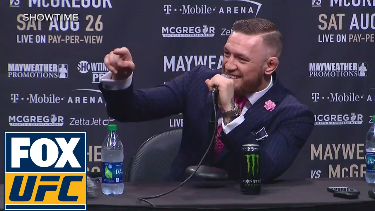 Conor McGregor vs Floyd Mayweather full media press conference