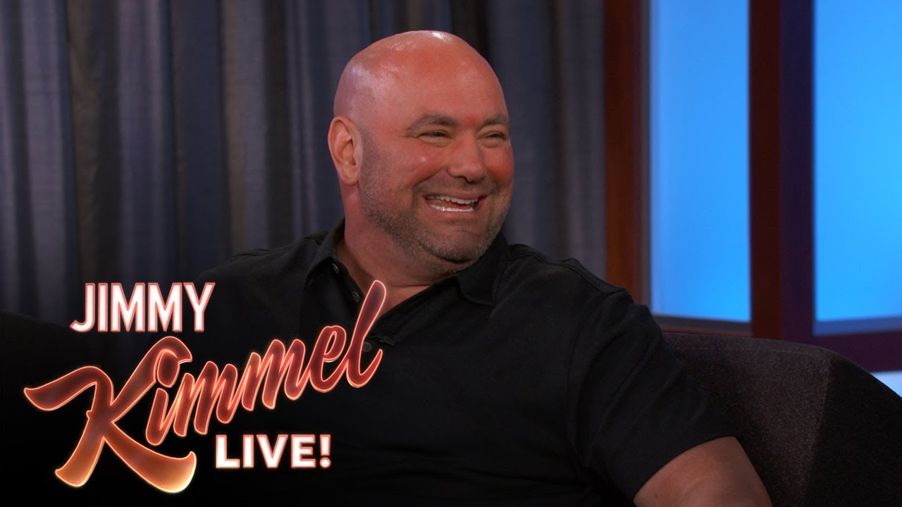 Dana White breaks down Conor McGregor vs Floyd Mayweather on Jimmy Kimmel