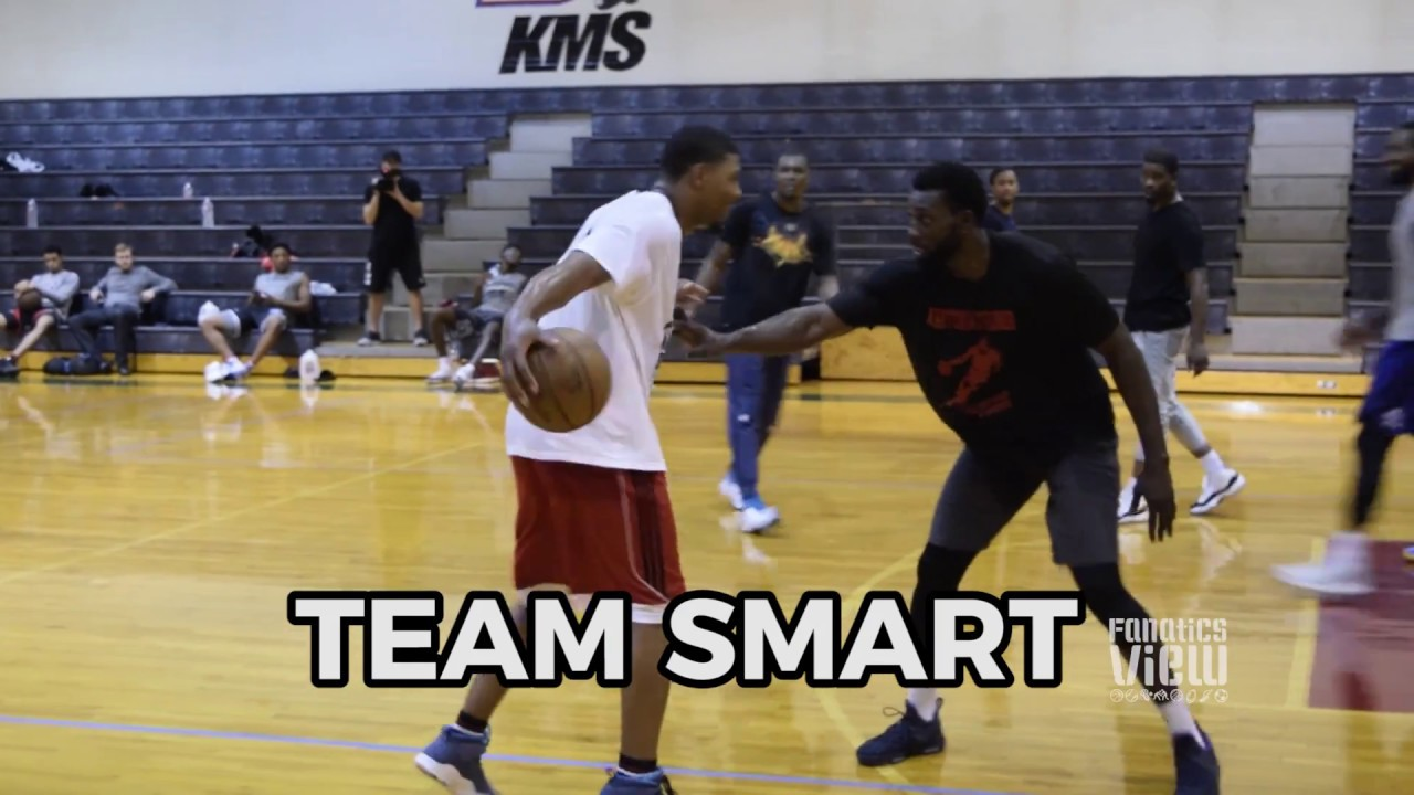 Emmanuel Mudiay vs. Marcus Smart - NBA Players Square Off in Dallas (FV Exclusive)