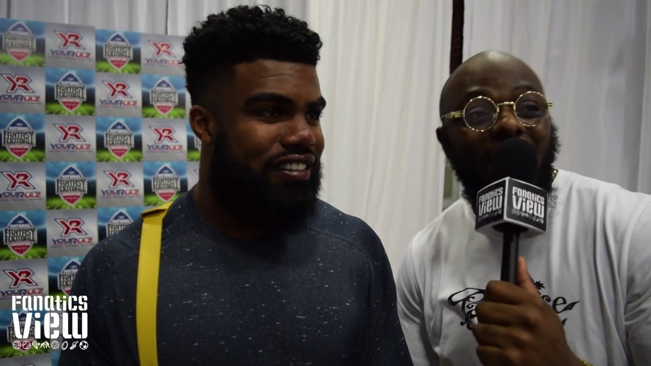 Ezekiel Elliott talks his summer off-season & Cowboys upcoming season