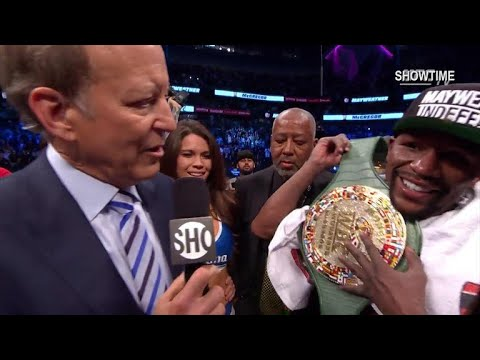 Floyd Mayweather reassures that match 50 was his last fight
