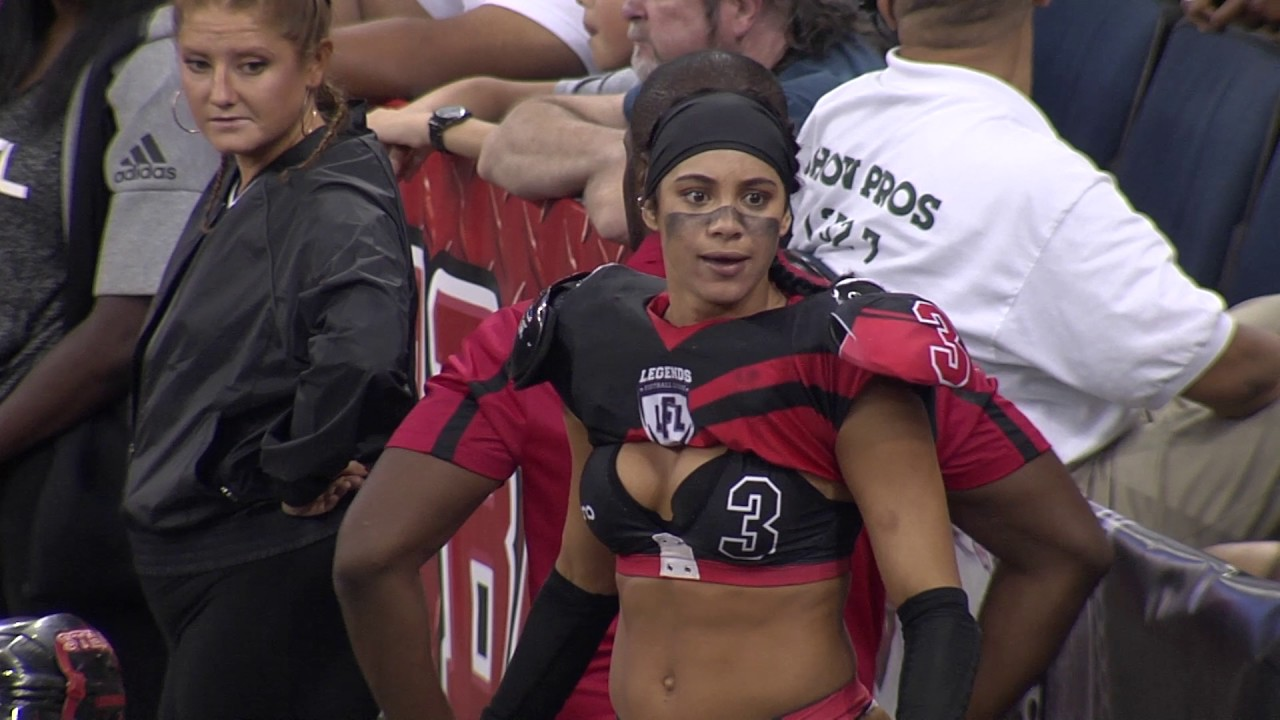 LFL player says she wants to beat her opponents