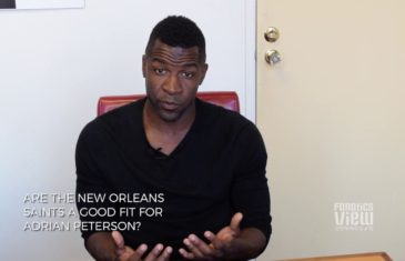 Mark Clayton on if Adrian Peterson is a good fit for the New Orleans Saints