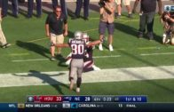 Brandon Cooks tip-toes to epic Patriots comeback against Houston Texans
