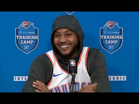 Carmelo Anthony talks OKC Thunder, Hoodie Melo, and