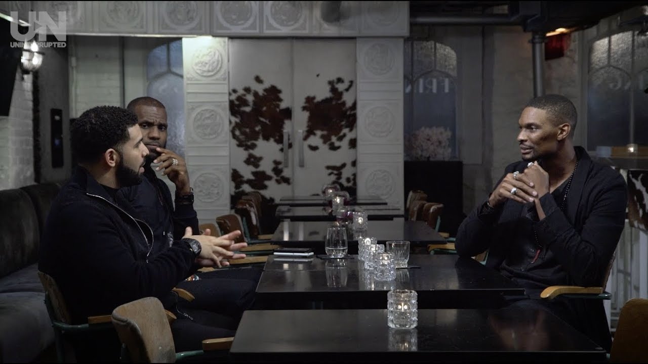 Drake, LeBron James & Chris Bosh discuss their careers & Vince Carter's new documentary