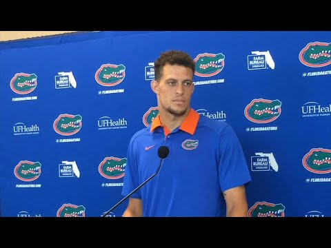 Florida QB Feleipe Franks discusses game winning TD throw