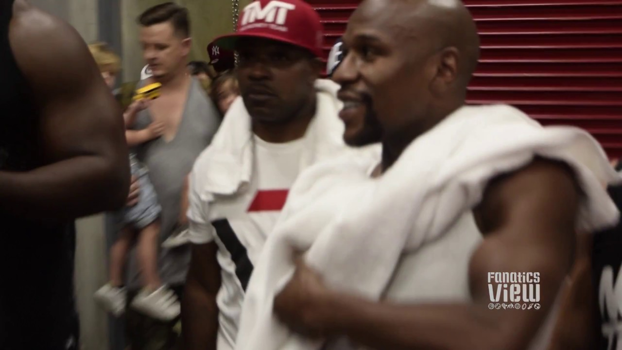 Floyd Mayweather, Fabolous, Allen Iverson & Chris Brown star in TMT Basketball highlights