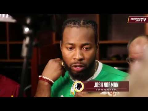 Josh Norman sounds off on Michael Crabtree & Amari Cooper after win over Raiders