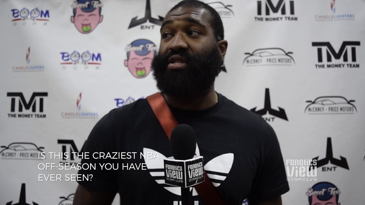 Kyle O'Quinn speaks on Mayweather vs. McGregor, New York Knicks & NBA Off-season