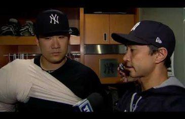 Masahiro Tanaka comments on his 150th professional win