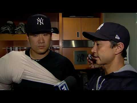 Masahiro Tanaka comments on his 150th professional win