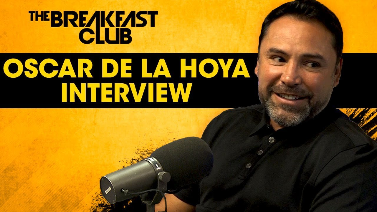 Oscar De La Hoya talks Canelo vs GGG & why he didn't like Mayweather vs. McGregor