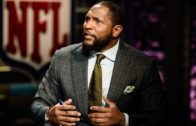 Ray Lewis says he was Praying & not Kneeling During the National Anthem