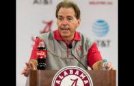 Alabama's Nick Saban discusses off-week & facing LSU