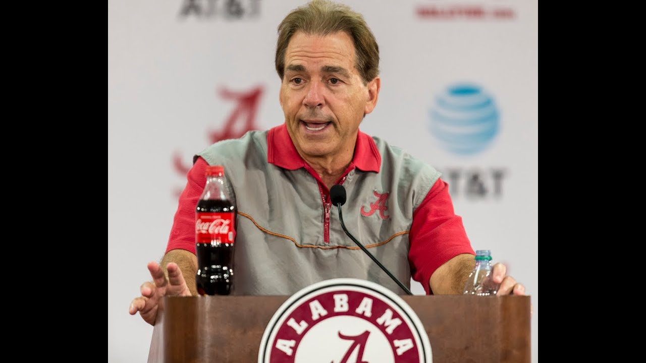 Alabama's Nick Saban discusses off-week & facing LSU
