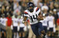 Arizona quarterback Khalil Tate rushes for 327-yards, sets FBS record