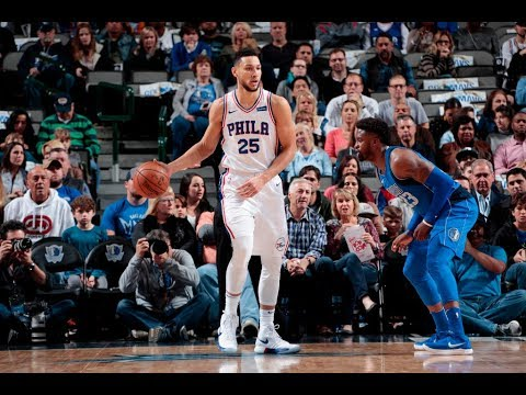 Ben Simmons shines as Mavs-Sixers game goes down to the wire