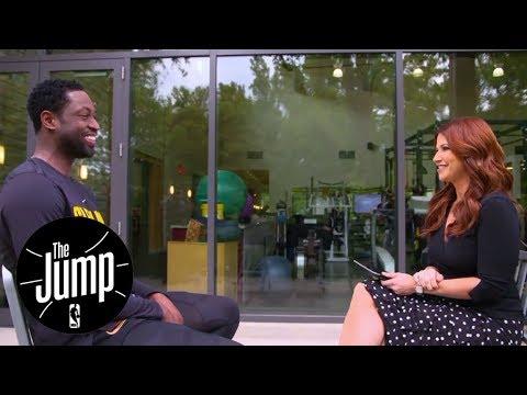 Dwayne Wade exclusive interview with ESPN's Rachel Nichols