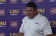 Ed Oregon addresses his team's historic loss against Troy University