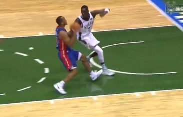 Giannis Antetokounmpo hosts a Wisconsin block party