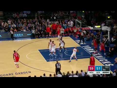 Jarrett Jack shows off his cannon with atrocious full court heave