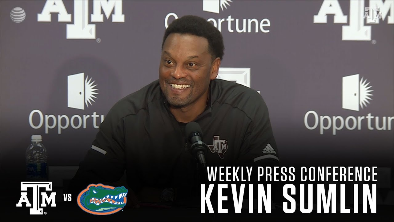 Kevin Sumlin discusses Texas A&M's upcoming matchup against Florida