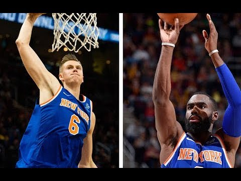 Kristaps Porzingis and Tim Hardaway Jr. lead the way for the Knicks