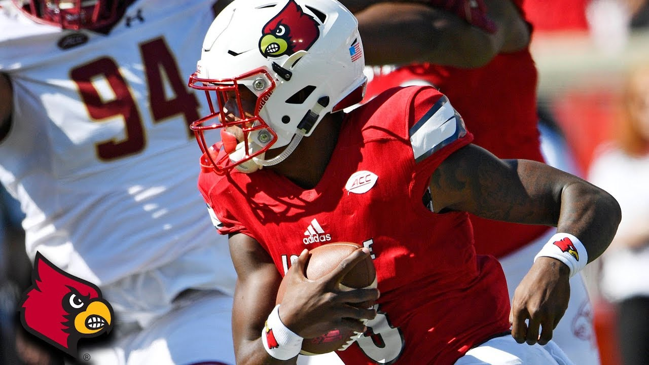 Lamar Jackson throws for 512 yards, 5 TD's in loss to Boston College